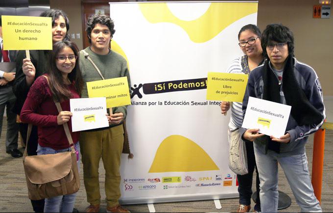 Jóvenes defendieron su derecho a una educación sexual integral