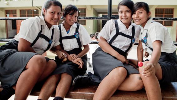 Escolares de Pucallpa